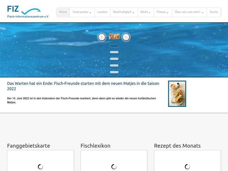 Screenshot von http://www.fischinfo.de